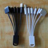 異なった携帯電話のためのマルチアダプターが付いている1 USBケーブルの6