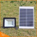 100W de haute qualité d'inondation à énergie solaire de lumière à LED avec trois modes de Wall Street