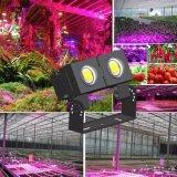 la planta LED de 100W 150W 200W 250W 300W 500W crece ligera con espectro completo