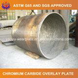 Tubulação de aço resistente da abrasão para a indústria de aço