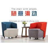 عادية خلفيّة بناء نوع كرسي ذو ذراعين مع عجلات لأنّ منقول