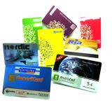 UHF 칩 RFID 플라스틱 결합 카드를 가진 MIFARE 고전적인 1K