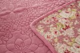 Stickerei-Zudecke mit Flanell-Gewebe und kann angepasst von Rose