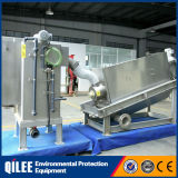 Tratamiento de aguas residuales industriales Acero Inoxidable 304 de la máquina de deshidratación de lodos