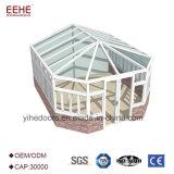 Портативные стеклянные дом и сад с крышей комнаты Sun