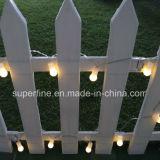 Ligne souple transparent Belle luminosité romantique jardin suspendu feux à LED décoratifs Chaîne étanche