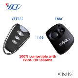 Faac transmisores de control remoto compatible con el sustituto perfecto pero003