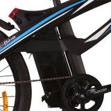 Bicyclette électrique approuvée de la CE avec le bâti facultatif de couleur