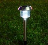 Série clara Xltd-300sc do diodo emissor de luz do jardim solar para a luz de cobre mais brilhante do trajeto do metal do revestimento do uso ao ar livre do caminho do jardim