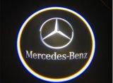 Mercedes Bnez를 위한 환영받은 유령 그림자 차 로고 빛