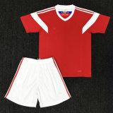 ロシアのフットボールのワイシャツの2018年のワールドカップのホーム赤いカスタマイズされたサッカーへの自由な出荷ジャージー
