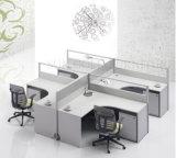 Un mobilier moderne Type de partition Station de travail de bureau pour 4 personne (SZ-WST609)