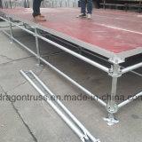 이동할 수 있는 플래트홈 조정가능한 강철 단계 (MS04B)