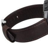 Labareda alça em couro Fitbit pulseiras banda pequena bracelete trança de vigilância inteligente original