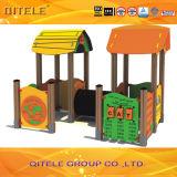 屋外の子供のPEのパネルの運動場装置(PE-22401)
