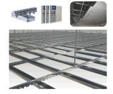 Pista de acero galvanizada de doblez fría del acero del perfil del metal de la mampostería seca