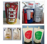 PLCが付いている化学薬品、食糧、薬剤の、粉のパッキング機械およびタッチ画面