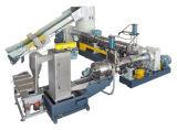 플라스틱 재생 기계 또는 플라스틱 압출기 또는 물 반지 PP PE 필름 알갱이로 만드는 선 또는 기계