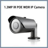 cámara impermeable del IP del punto negro de 1.3MP WDR IR Poe