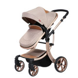 Neuer Entwurfs-europäischer Luxuxfalten-BabyPram mit Cer