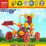 2015 coloridos ferramentas de construção de blocos de construção plástica brinquedos