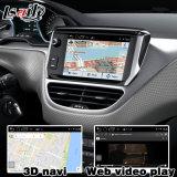 Androider GPS-Navigations-Kasten-videoschnittstelle für Peugeot 208 2008 308 408 508 Mrn Semg hintere Ansicht-Spiegel-Link-Sprachsteuerung