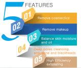 Escova de limpeza facial do silicone sónico compatível recarregável elétrico da recolocação dos fabricantes