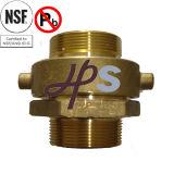 Nsf-61 de goedgekeurde Lage Koppeling van de Brand van het Messing van het Lood