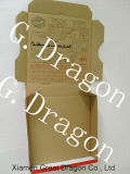 Scatola di cartone ondulata per le pizze, scatole da pasticceria, contenitori del biscotto (PIZZ014)