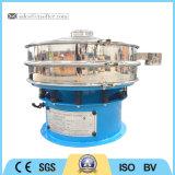 Vibração rotativa Peneira automática a máquina com o funil de alimentação