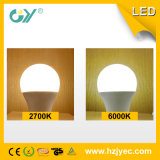 Ângulo largo da luz de bulbo do diodo emissor de luz de E27 B22 A60