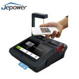 Máquina androide de la lotería de la posición con la impresora incorporada, programa de lectura de Nfc/RFID, Wi-Fi, 3G