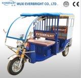 最も新しい電気3台の車輪の自動乗客の人力車の三輪車
