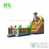 子供の運動場の屋外の大洋性の膨脹可能なスライド