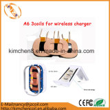 Wireless Charger Car Coil를 위한 A6 Charger Transmitter 3 Coils