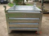 Caixa de pálete de aço da gaiola do armazenamento Q235