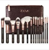 El Portable de Zoeva compone el cepillo con negro del bolso 8 PCS/Set/color de rosa/el conjunto de cepillo cosmético amarillo
