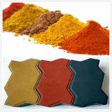 Color pigmento de óxido de hierro en polvo para la industria