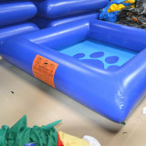 De blauwe Opblaasbare Zwemmende Pool van het Water voor het Park van het Water