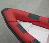 Fabricado na China barato grande barco de casco de fibra de vidro costela640 com PVC de 0.9mm-1.2mm