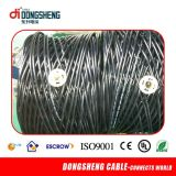 Rg59 Siamese Cable CCTV 95% trenzado para cámara de seguridad