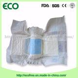 Couche-culotte jetable de bébé d'indicateur de film humide de PE