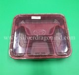 Kundenspezifischer Wegwerfplastikmittagessen-Kasten, Behälter der Nahrung1000ml