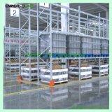 選択的で調節可能な倉庫の記憶パレット棚