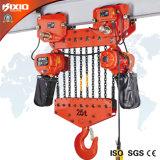 tipo elettrico del carrello della strumentazione di sollevamento della gru Chain 35t
