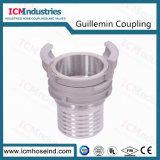 En 14420-8/NF E29-572 알루미늄 Guillemin 소화 호스 연결