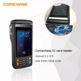 자기 띠 카드, IC 카드 판독기, Fingerprinter 센서 508dpi 의 붙박이 열 인쇄 기계