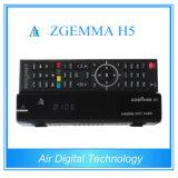 Самый быстрый ЦП Zgemma декодер Combo DVB S2 + DVB T2/C Zgemma H5