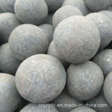 Равномерной шарики выкованные твердостью меля стальные