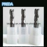 3 laminatoi di estremità di sgrossatura di Uncaoted delle scanalature per alluminio